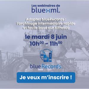 Archivage intermédiaire BlueRecords Bluexml Expert Alfresco